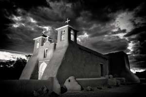 Ranchos Church Sunset