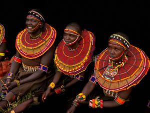 Women of the Pokot Tribe • ©Terri Gold