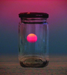 Sunset in a Jar • © Shifra Levyathan